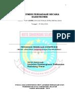 14. SDP Lanjutan Pembangunan Puskesmas Pamulang Timur