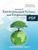 Journal of Environmental Science and Engineering,Vol.7,No.3B,2018