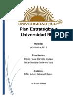 Planificación Estratégica NUR