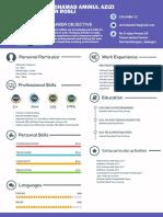 professional resume cv template free psd  1