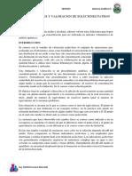 Quimica Analitica Preparacion y Valoracion de Diluciones Patron