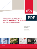 HVS the Annual HVS Asia Pacific Hotel Operator Guide 2017 Excerpt