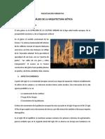 ANALISIS CATEDRAL DE BARCELONA