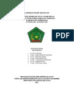 Contoh Format Cover Dan Persetujuan