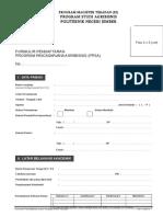 Formulir Pendaftaran Ppsa Polije Mandiri