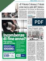Il Vittoria Colonna è l'ideale come nuova sede di Fano Ateneo - Il Resto del Carlino del 17 ottobre 2018