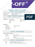 MSDS Grinding Fluid - NB (Umum)