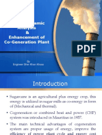 Thermodynamic Analysis & Enhancement of Cogeneration Plant