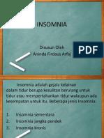 Insomnia Ppt