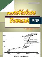 Clase 8 - Anestesicos Generales