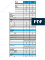 2018 Hyundai Kona - Spec Sheet