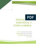 Inteligencia Emocional y Clima Laboral
