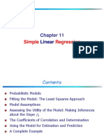 Chapter Simple Linear Regression 1