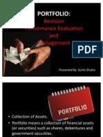 Portfolio Revision Sumit Shukla