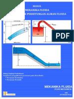 Modul Mekanika Fluida Dasar Dasar Perhitungan Aliran Fluida