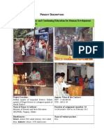 Post Literacy and Continuing Education for Human Development Project