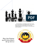 Play Like Bobby Fischer