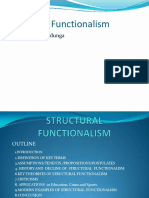 uctural Functionalism