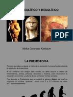 Paleolítico y Mesolítico