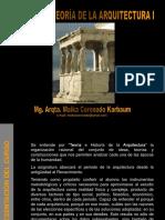 Historia y Teoría de La Arquitectura_clase 1