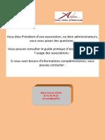 Guide Pratique Associations 2013