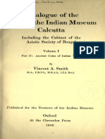 Catalogue of the Coins in the Indian Museum, Calcutta Part 1, Vol 2-A