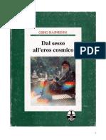Dal Sesso All'Eros Cosmico, Osho