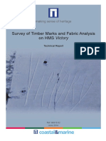 Survey of Timber Marks and Fabric Analysis on HMS Victory