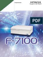 HTB E119 F 7100E Brochure