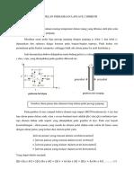 Pemodelan Persamaan Laplace 2 Dimensi Pada Plat Persegi Panjang