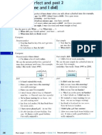Present Perfect and Past Simple 2