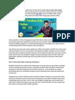 Situs Taruhan Bola Online Terpercaya Di Denpasar