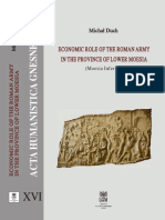Economic Role of the Roman Army in Province of Lower Moesia
