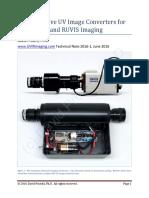 Prutchi Diy Shortwave UV Converters and Cameras