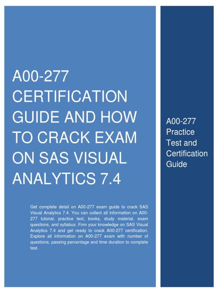 Passin Sas Certification Prep Guide Michaelieclark