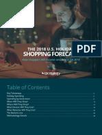 2018 Q4 Shopper Forecast Guidebook