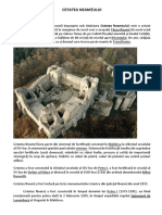Fisa - Cetatea Neamtului