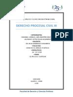 El Proceso Cautelar en El Código Procesal Civil Peruano