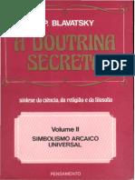 Doutrina Secreta Vol 2