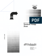 03 Vertical Pump Test ANSI HI 2.6 2000
