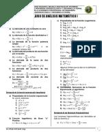 Formulario de Análisis Matemático I
