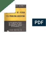 El Fracaso de Peron y el Problema Argentino - Walter Bevaraggi Allende