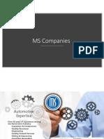 MS Companies Presentation 2018