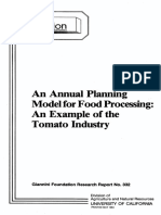 Tomato Industry-food Processing