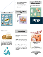 Leaflet Alergi Susu Sapi