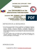 Ah i 2 Geoquimica en Las Alteraciones Hidrotermales 06092018