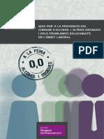 Guia per a la prevenció del consum d'alcohol i altres drogues i dels problemes relacionats en l'àmbit laboral