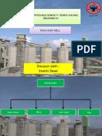 PPT kebutuhan air di gas conditioning tower dan electrostatic precipitator di PT semen padang