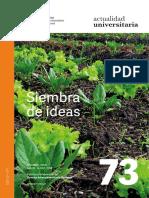 revista 73 Actualidad universitaria
