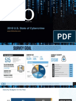 2018 U.S. State of Cybercrime Survey
